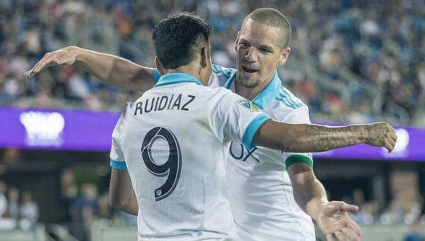 Raúl Ruidíaz anota su onceavo gol con Seattle Sounders [VIDEO]