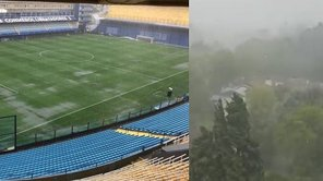 Boca vs River: Lluvia torrencial inicia nuevamente en Buenos Aires [VIDEO]
