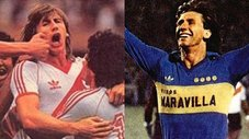 River vs Juniors: Revive los goles de Ricardo Gareca en los superclásicos