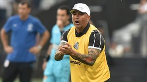 Jorge Sampaoli y su terrible blooper en su debut con Santos