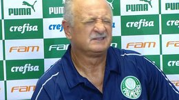 Luiz Felipe Scolari se descompuso en plena conferencia [VIDEO]