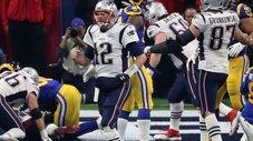 ​Patriots vencieron 13-3 a los Rams en el Super Bowl 2019