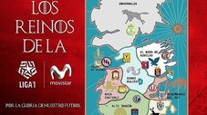Liga 1 se inspira en Game of Thrones para descubrir al favorito del Apertura