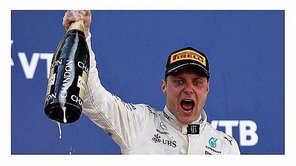 Valtteri Bottas se lleva la 'pole' en el GP de China