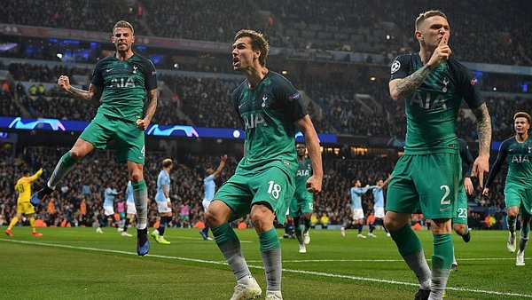 Manchester City vs. Tottenham se miden por cuartos de final de Champions League. (Foto: Reuters)