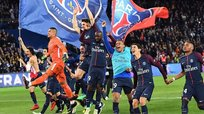 PSG se coronó bicampeón a falta de cinco fechas para final de la Ligue 1 | FOTOS y VIDEO