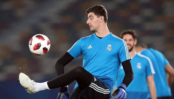 Thibaut Courtois regresa a una convocatoria del Real Madrid con Zinedine Zidane. (Foto: Reuters)