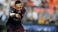 ​Hat trick de Aubameyang para meter al Arsenal en la final de UEFA Europa League | VIDEO