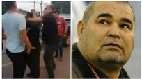 Youtube: José Luis Chilavert se agarra a golpes con chofer en Paraguay | VIDEO
