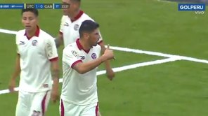 ​UTC vs. Real Garcilaso: Almirón anotó golazo de tijera en la Liga 1 | VIDEO