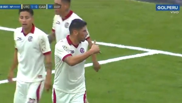​UTC vs. Real Garcilaso: Almirón anotó golazo de tijera por la Liga 1 | VIDEO / Foto: twitter