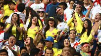 Perú vs. Colombia: el color y la fiesta en las tribunas del estadio Monumental | FOTOS
