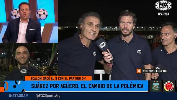 Óscar Ruggeri y su tensa discusión con panel de Fox Sports por derrota de la selección argentina ante Colombia. (Video: Fox Sports)