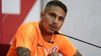 Internacional vs. Athletico Paranaense: Alondra le da mala noticia a Paolo Guerrero a minutos de la final | FOTO
