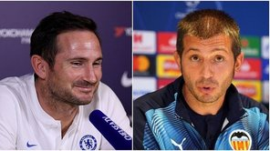 ​Chelsea vs. Valencia | Lampard y Celades calientan la previa de Champions League | VIDEO