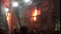 Internacional | Estadio Beira-Río se incendió tras la final perdida de la Copa de Brasil [VIDEO]