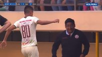 Universitario | Anthony Osorio comete blooper y entra al campo con camiseta de Henry Vaca | VIDEO